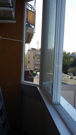 Zasklenie balkóna, zasklievanie balkónov, hliníkový posuvný systém